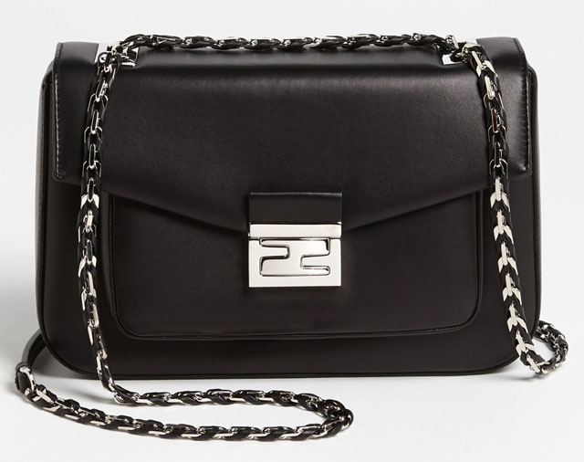 Fendi Be Baguette Bag Black