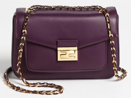 Fendi Be Baguette Bag Purple