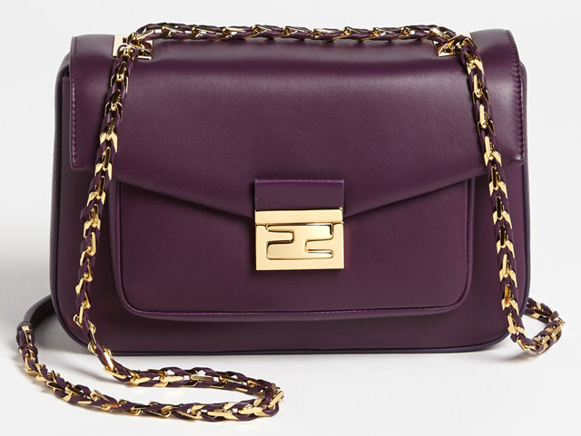 Fendi Be Baguette Bag Purple