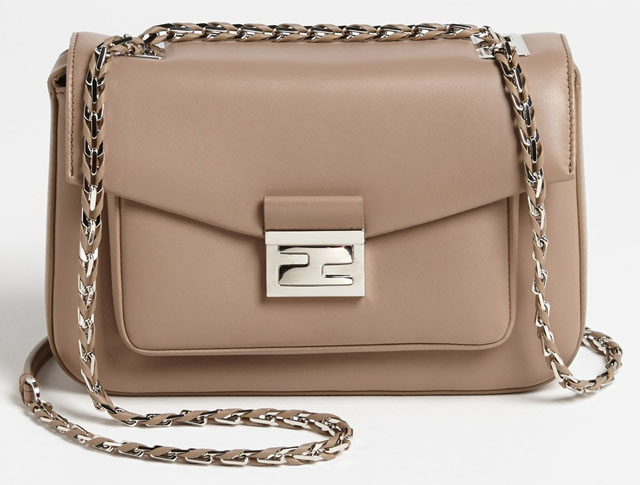 Fendi Be Baguette Bag Taupe