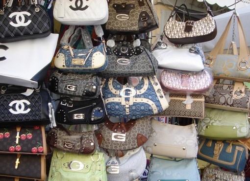 Illegal Counterfeit Handbags