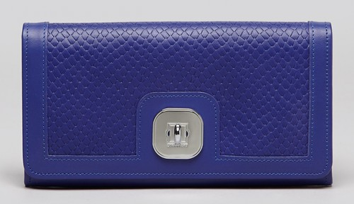 Longchamp Gatsby Exotic Continental Wallet