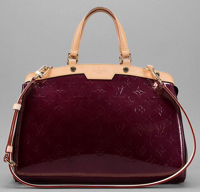 Louis Vuitton Monogram Vernis Brea Bag