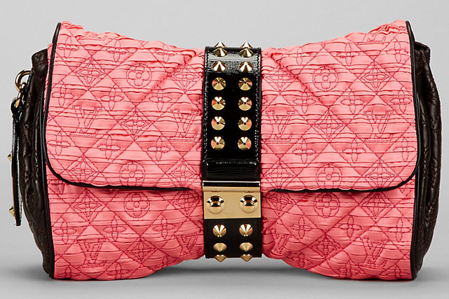 Louis Vuitton Pink Bunny Monogram Coquette Clutch