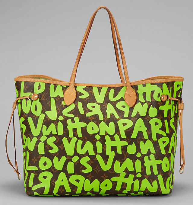Louis Vuitton Stephen Sprouse Graffiti Neverfull Tote
