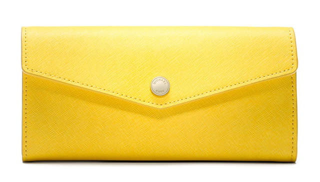 MICHAEL Michael Kors Large Inside-Stripe Saffiano Wallet