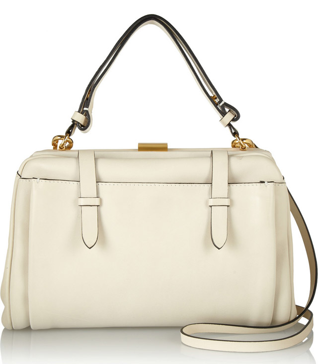 Marni Ivory Leather Bag