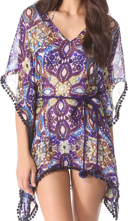 Matthew Williamson Escape Short Kaftan Coverup