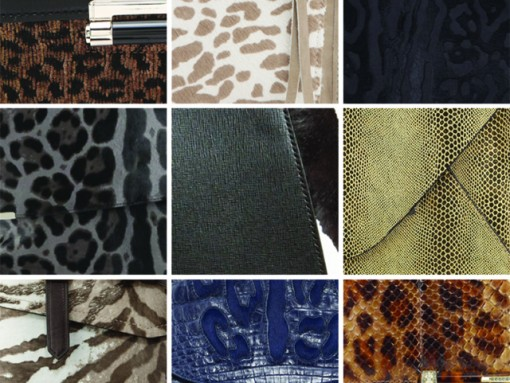 Muted Animal Print Bags