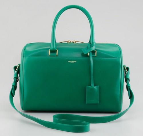 Saint Laurent Small Classic Duffel Bag