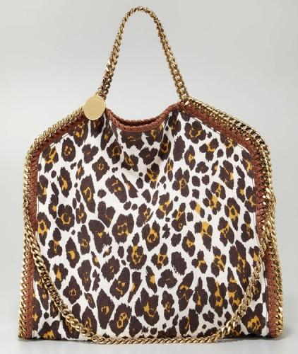Stella McCartney Falabella Leopard Print Bag
