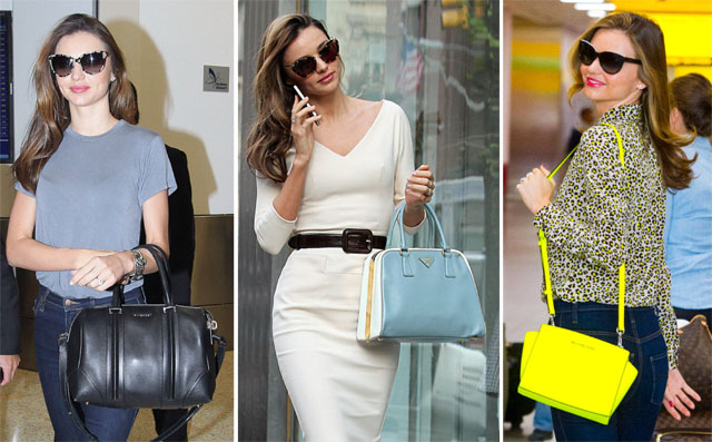 The Many Bags of Miranda Kerr, Part Two PurseBlog