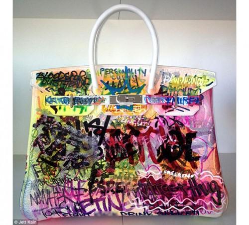 The Mirf Hermes Graffiti Birkin Bag