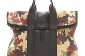 3.1 Phillip Lim Camouflage Canvas 31 Hour Bag