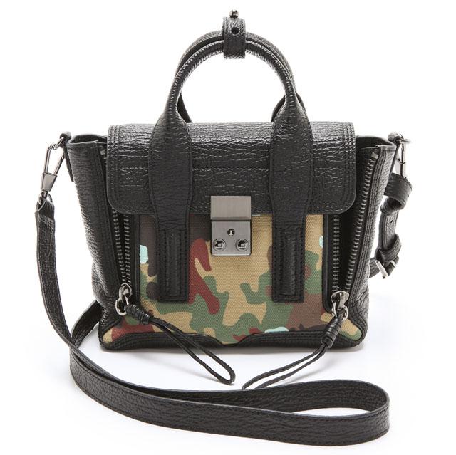 3.1 Phillip Lim Camouflage Mini Pashli Bag