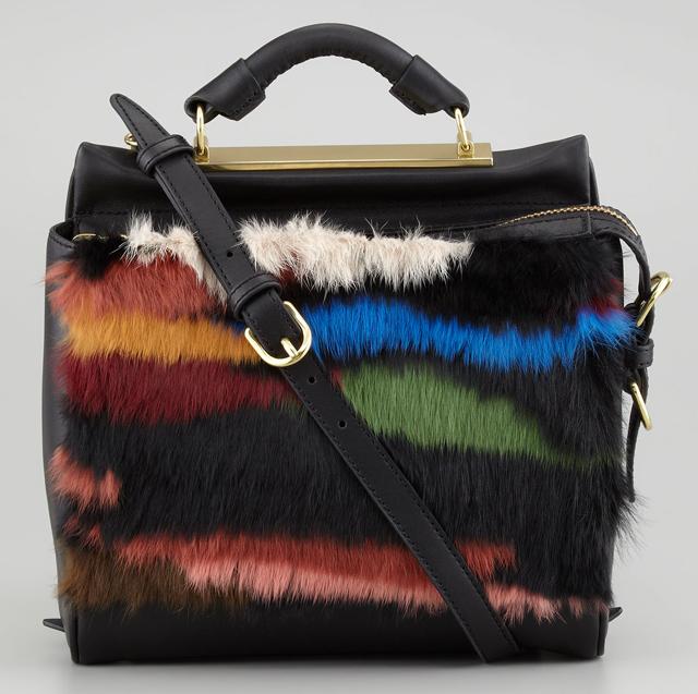 3.1 Phillip Lim Small Fur Ryder Bag