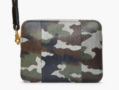 Man Bag Monday: Alexander McQueen Camouflage Python Laptop Case