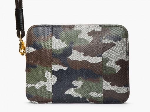 Alexander McQueen Camouflage Python Laptop Case