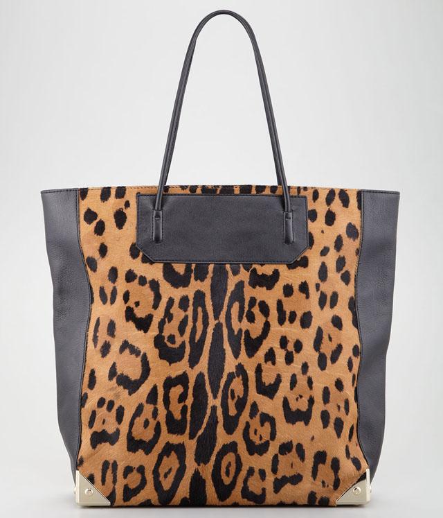 Alexander Wang Leopard Prisma Tote