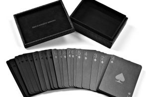 Alexander Wang Playing Cards With Embossed Case