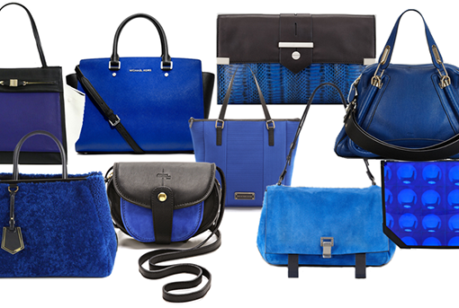 Black and Blue Bags