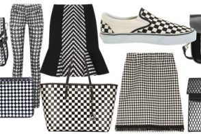 Black and White Check Trend