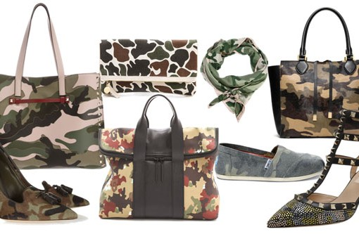 For Fall 2013, Camouflage is More Visible Than Ever