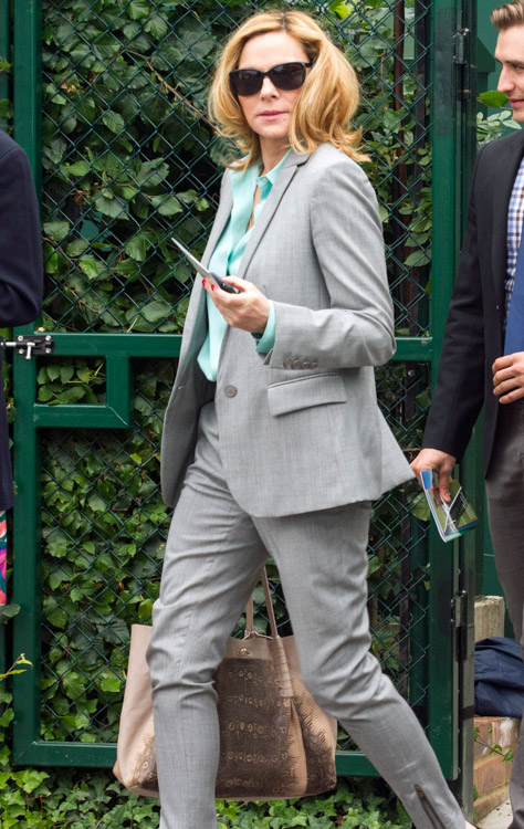 Celebrity Handbags at Wimbledon 2013 (2)