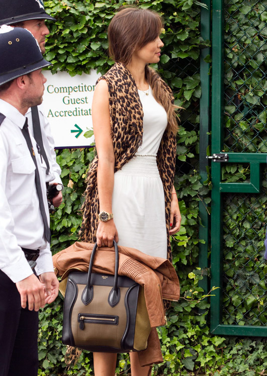 Celebrity Handbags at Wimbledon 2013 (3)