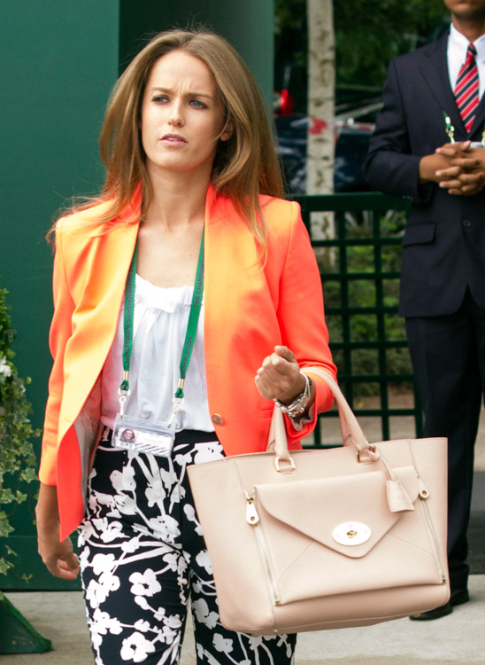 Celebrity Handbags at Wimbledon 2013 (5)