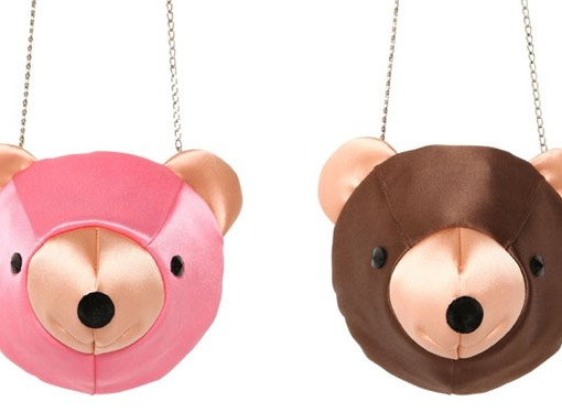 Charlotte Olympia Might Have Gone a Bridge Too Far With These Bear Head Clutches
