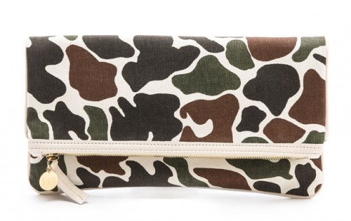 Clare Vivier Fold-Over Clutch