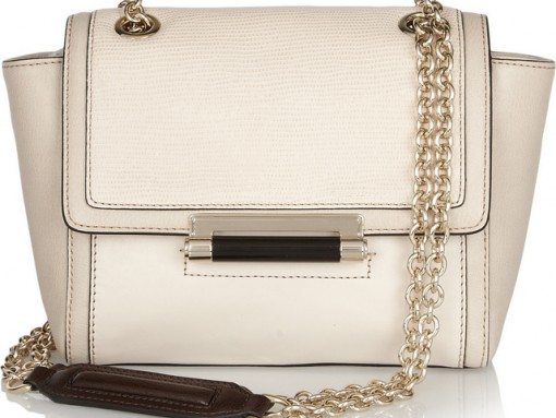 Diane von Furstenberg 440 Mini Leather Shoulder Bag