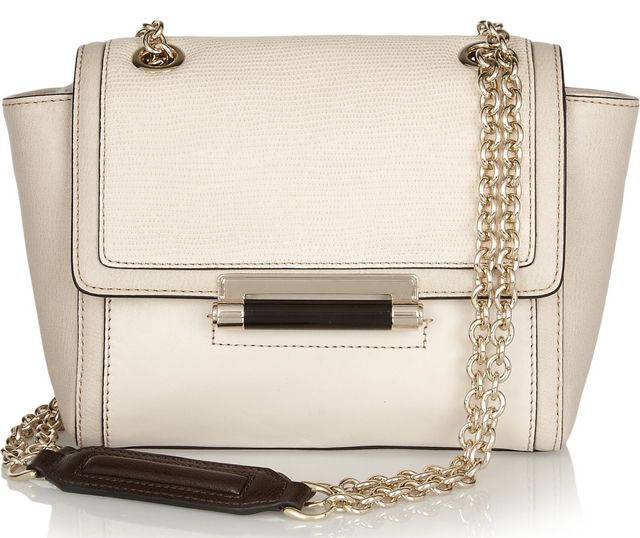 Diane Von Furstenberg 440 Mini Leather Shoulder Bag
