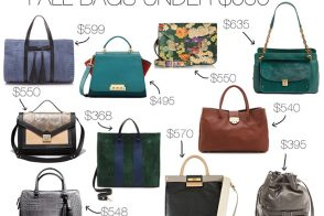 Transition to Fall With 10 Great Bags Under $650