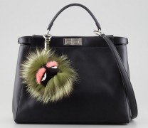 Add A Little Monster To Your Bag With a Fendi Fur Charm
