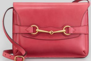 Gucci Bright Bit Leather Shoulder Bag