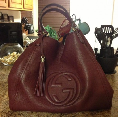 Gucci Tote Bag Bordeaux