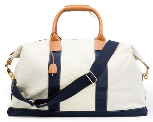 J.McLaughlin Large Sailcloth Duffle