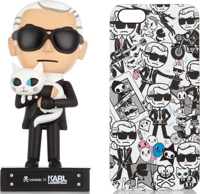 Karl Lagerfeld x Tokidoki Collection