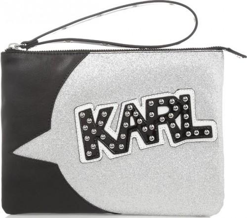 Karl Lagerfeld x Tokidoki Faux Leather Pouch Clutch