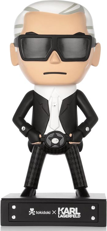 Karl Lagerfeld And Tokidoki Team Up For Adorable Cartoon