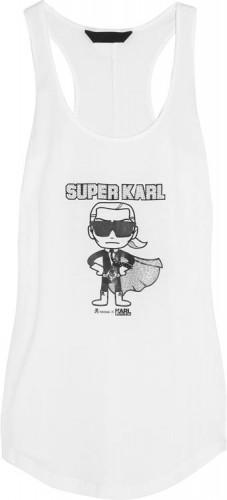 Karl Lagerfeld x Tokidoki Super Karl Tank Top