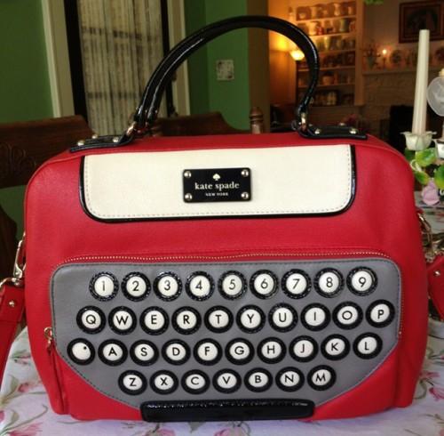 Kate Spade Typewriter Bag