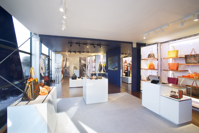 Louis Vuitton America's Cup Store Interior 1