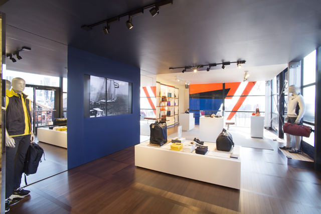 Louis Vuitton America's Cup Store Interior 2