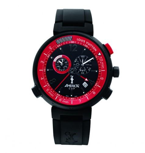 Louis Vuitton America's Cup Watch Black