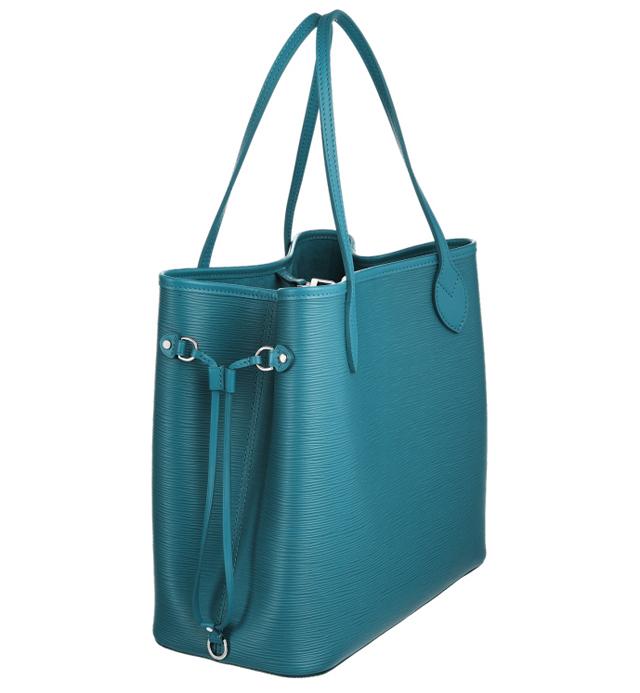Louis Vuitton Epi Neverfull Bag Cyan 2