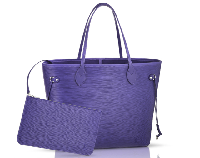 Louis Vuitton Epi Neverfull Bag Figue
