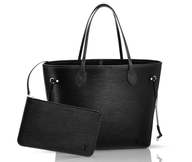 Louis Vuitton Epi Neverfull Bag Noir